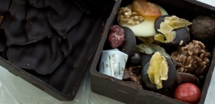Box of chocolate, you are out of focus, but I don't care because you are delicious. And French.